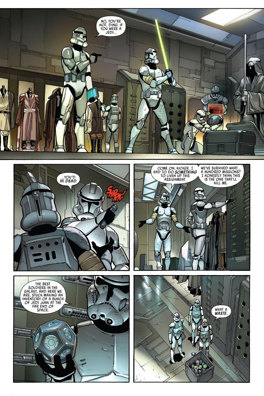 Comics Star Wars Darth Vader 2 Preview Naboo News