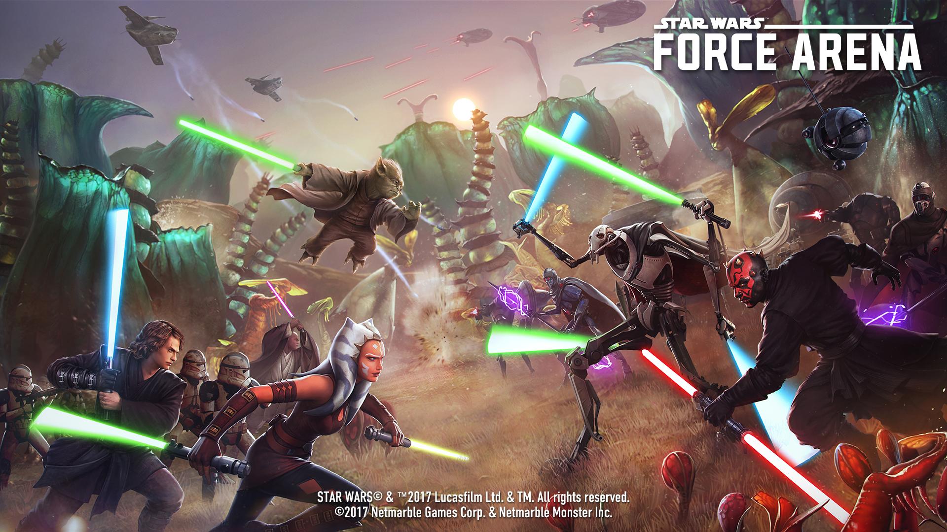 force arena new update will bring the clone wars era naboo news